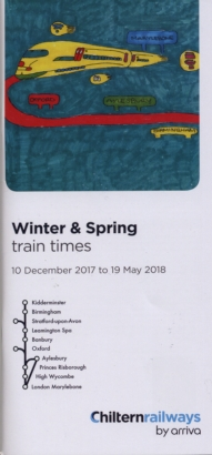 Chiltern timetable cover